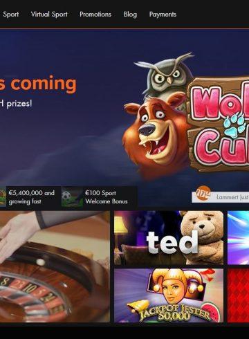Website van Kroon Casino
