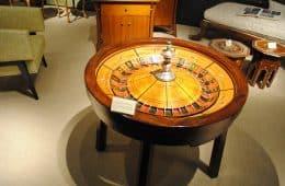 Oude roulette wiel