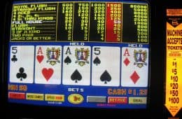 Full house bij Video Poker